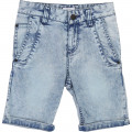 5-pocket stretch denim shorts DKNY for BOY
