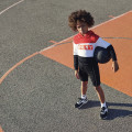 Striped dual-material shorts DKNY for BOY