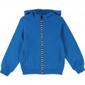 Zip-up cardigan with hood DKNY for BOY
