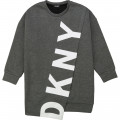 Stretch logo dress DKNY for GIRL