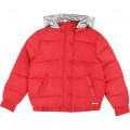 Down jacket with removable hood DKNY for GIRL