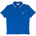 SHORT SLEEVE POLO BOSS for BOY