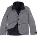 2-In-1 jacket with removable vest BOSS for BOY