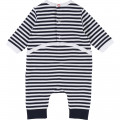 Striped pyjama and bib outfit BOSS for BOY