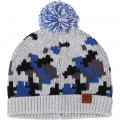Knit hat with pompom TIMBERLAND for BOY