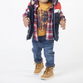 Distressed denim trousers TIMBERLAND for BOY