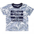 Inside all-over print T-shirt TIMBERLAND for BOY