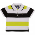 Striped cotton jersey polo TIMBERLAND for BOY
