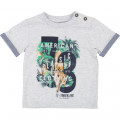 Screen-printed cotton T-shirt TIMBERLAND for BOY