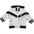 Printed hooded cardigan TIMBERLAND for BOY