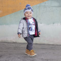 Hooded winter jacket TIMBERLAND for BOY