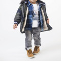 Waterproof hooded parka TIMBERLAND for BOY