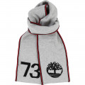 Jacquard knit scarf TIMBERLAND for BOY
