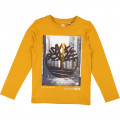 Printed T-shirt with logo TIMBERLAND for BOY