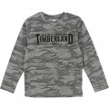 Jacquard jersey T-shirt TIMBERLAND for BOY