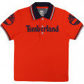 Slim-fit organic cotton polo TIMBERLAND for BOY