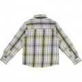 Checked cotton shirt TIMBERLAND for BOY