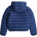 Coated waterproof parka TIMBERLAND for BOY