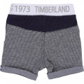 Cotton biface bermuda shorts TIMBERLAND for BOY