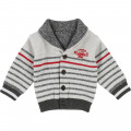 Reversible knitted sweater TIMBERLAND for BOY