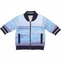 Reversible fleece cardigan TIMBERLAND for BOY