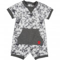 Printed cotton romper TIMBERLAND for BOY
