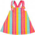 Striped terry dress BILLIEBLUSH for GIRL