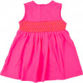Sleeveless dress with patch BILLIEBLUSH for GIRL