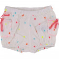 Square pattern cotton shorts BILLIEBLUSH for GIRL