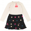 Double-fabric dress BILLIEBLUSH for GIRL