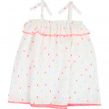Colourful square pattern dress BILLIEBLUSH for GIRL