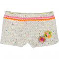 Sequined tweed shorts BILLIEBLUSH for GIRL