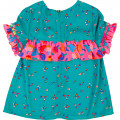 Small floral print blouse BILLIEBLUSH for GIRL