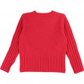 Tricot jumper with pompoms BILLIEBLUSH for GIRL