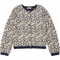 Patterned tricot cardigan BILLIEBLUSH for GIRL