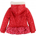 Hooded printed winter jacket BILLIEBLUSH for GIRL