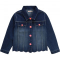 Denim jacket with sequin motif BILLIEBLUSH for GIRL