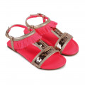 Sequined sandals BILLIEBLUSH for GIRL
