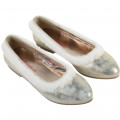 Leather ballet flats with fur BILLIEBLUSH for GIRL