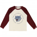 Raglan-sleeved T-shirt BILLYBANDIT for BOY