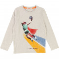 T-shirt with print BILLYBANDIT for BOY