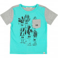 Cotton T-shirt with accents BILLYBANDIT for BOY