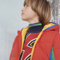 Padded colour-block jacket BILLYBANDIT for BOY