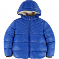 Hooded padded jacket BILLYBANDIT for BOY