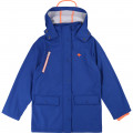Raincoat with pockets and hood BILLYBANDIT for BOY