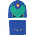 Hat and snood set BILLYBANDIT for BOY