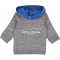 Fleece hoodie LITTLE MARC JACOBS for BOY