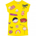 Printed dress with sequins LITTLE MARC JACOBS for GIRL