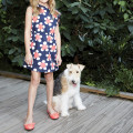 Floral pleated dress LITTLE MARC JACOBS for GIRL