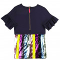 Dress with frills and sequins LITTLE MARC JACOBS for GIRL